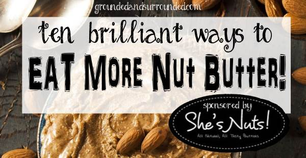 Paleo nut butter is one of our favorite ways to eat nuts! You want to make sure that you are consuming only the highest quality nut butters made with minimal add-ins. Healthy and peanut allergy friendly nut butters can be substituted for peanut butter in nearly any recipe. Don't be afraid to mix things up and substitute your favorite nut butter in these recipes. https://www.groundedandsurrounded.com/eat-more-nut-butter/