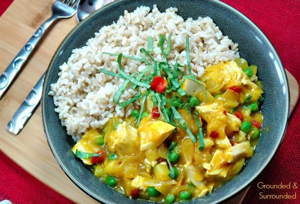 This Sweet and Spicy Turkey Curry is an easy, healthy, and gluten free way to use up those holiday leftovers. You won't believe how fast this meal comes together and how hearty and satisfying it is! Clean eating and low carb never tasted so good! Our families look forward to this meal each year.
