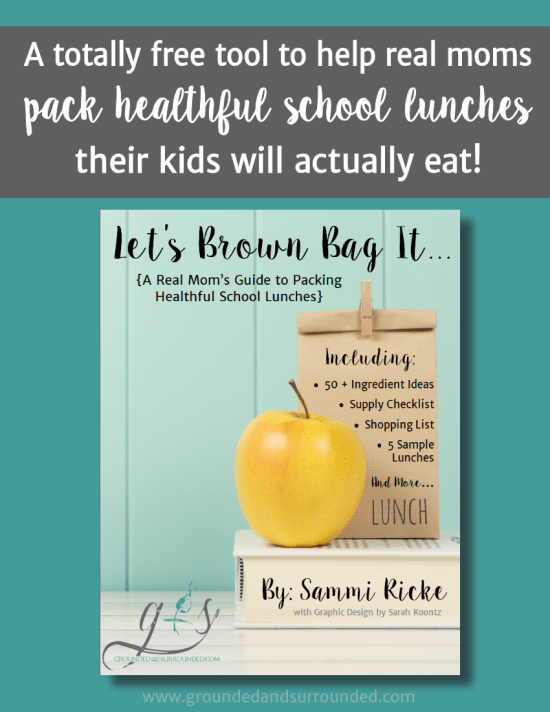 A Real Mom's Guide to Packing Healthy School Lunches   This free download not only includes a list of 50+ lunchbox ingredient ideas but also lays out the anatomy of healthy school lunches. PLUS 5 practical and easy make ahead meal tips complete with our favorite recipes for even your picky eaters!