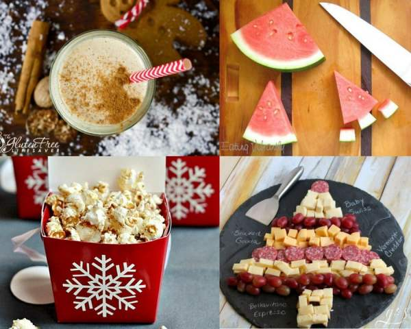 The 30+ BEST Clean Eating Holiday Recipes | Christmas is my favorite holiday! Oh, the food! You will find festive breakfast (donuts), healthy dinner, easy dessert, side dish (brussels sprouts), and fun snack ideas (candy canes) for kids parties or a cozy night in. Not to mention drinks, cookies, gingerbread, egg nog, green beans, and cider recipes to satisify your need for classic and comforting flavors! Most are gluten free / Paleo / low carb / dairy free, vegetarian and vegan substitutions can be made too.