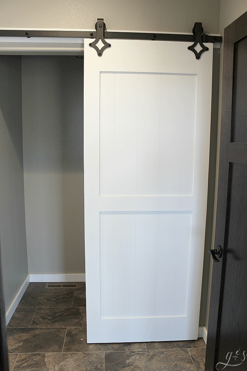 How To DIY Your Own Barn Doors | We Chose To Hang Two Barn Doors In