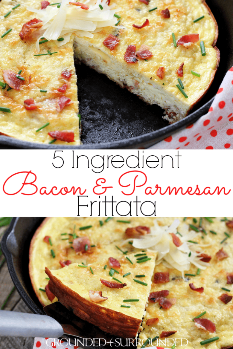 5 Ingredient Bacon & Parmesan Frittata | #ad Easy and healthy recipes can be simple and delicious! This frittata uses PAM® Spray Pump Avocado Oil and this non-stick cooking spray does it\'s job. The only ingredients are eggs, Parmesan cheese, bacon (or turkey bacon), plain Greek yogurt (milk or sour cream). Your breakfast, brunch, lunch, dinner (aka brinner!) just got WAY better! Use your cast iron skillet or any "|779|1168|?|e567b89a23eb88134e9e65eace7fa0b1|False|UNLIKELY|0.363567590713501
