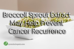Broccoli Sprout Extract May Help Prevent Cancer Recurrence
