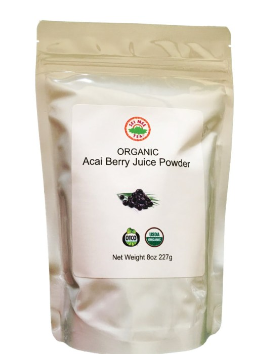 Acai Juice Powder Organic