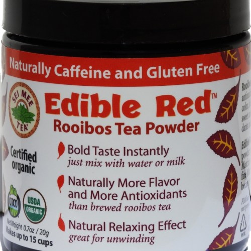 Edible Red Rooibos Powder 15 cup