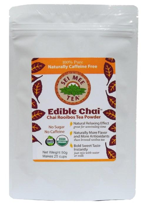 Rooibos Powder, Organic Edible Chai - 25 cup