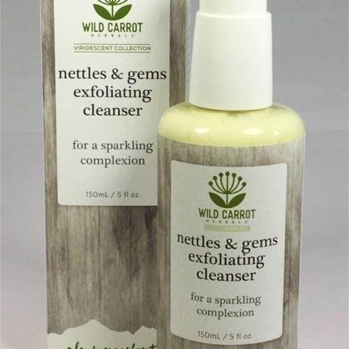Nettles & Gems Exfoliating Cleanser