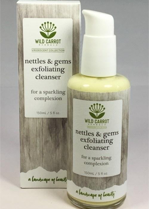 Green Tea Skin Care, Nettles & Gems Exfoliating Cleanser