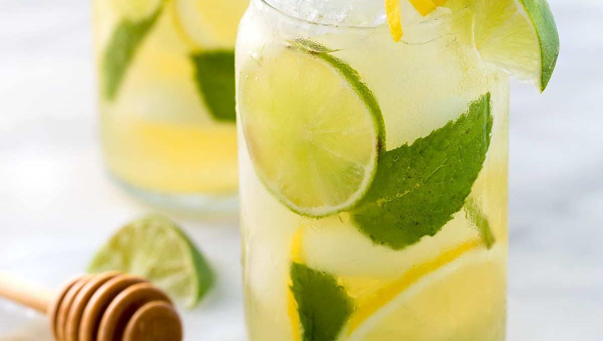 Iced Green Tea for Summer