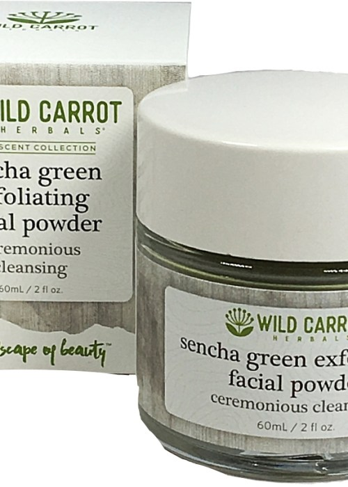 Green Tea Skin Care, Sencha Green Exfoliating Facial Powder