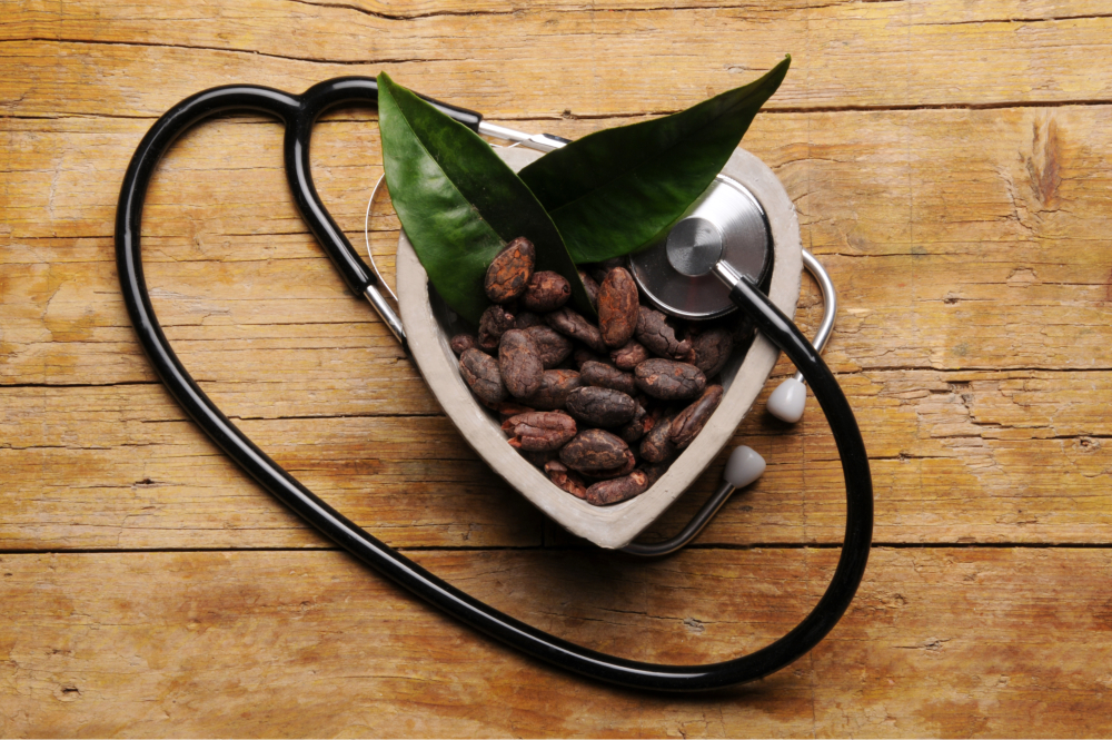 Drink Green Tea to control blood pressure when you eat chocolate
