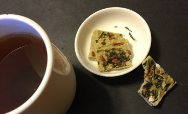 Most enjoyable with our Hojicha2 -squared- tea