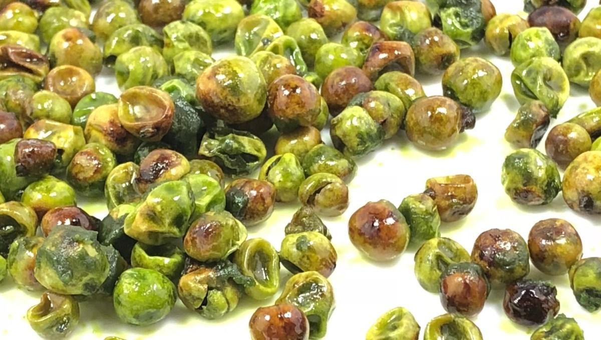 Homemade Wasabi Green Peas