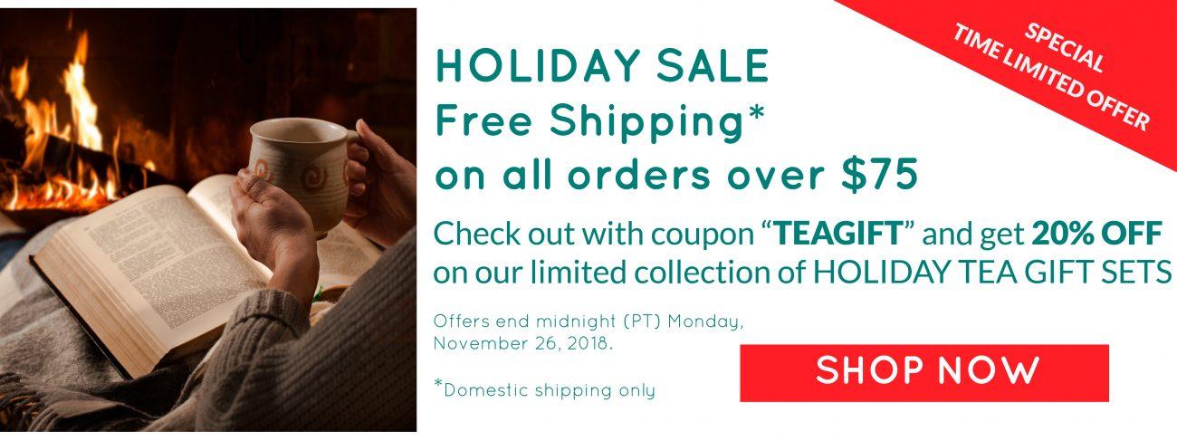 holiday tea gift sets and free shipping