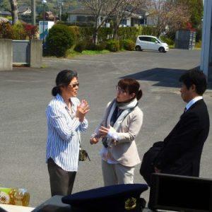 Discussion with JETRO representative
