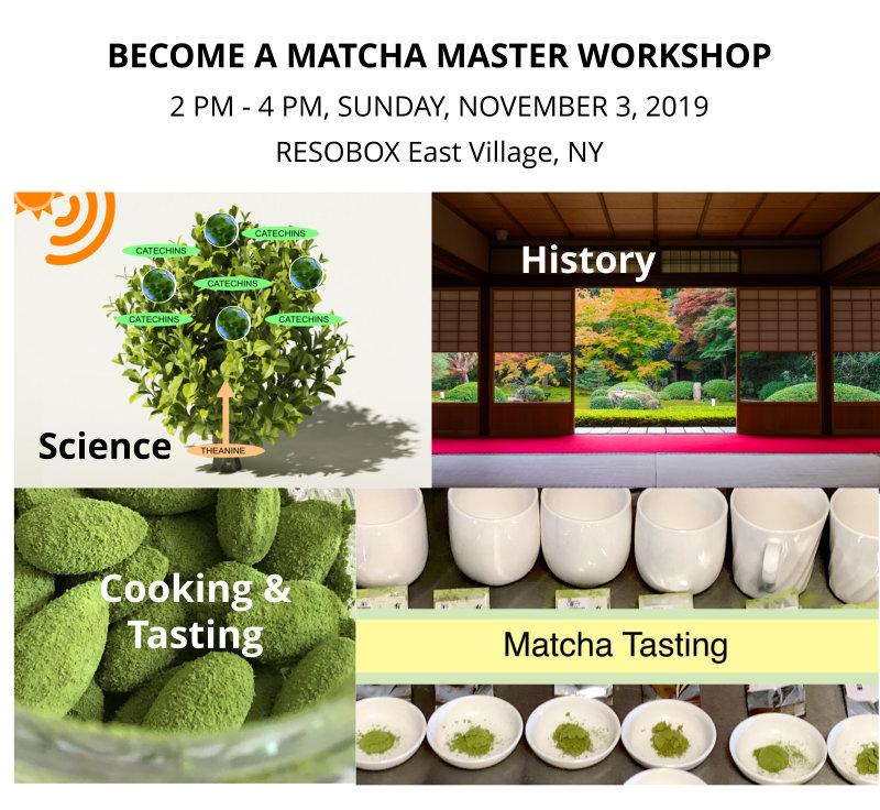 matcha master workshop in NY