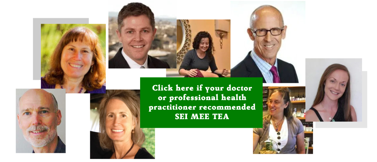 Click here if your doctor recommended SEI MEE TEA