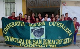 In front of the health center in San Ignacio