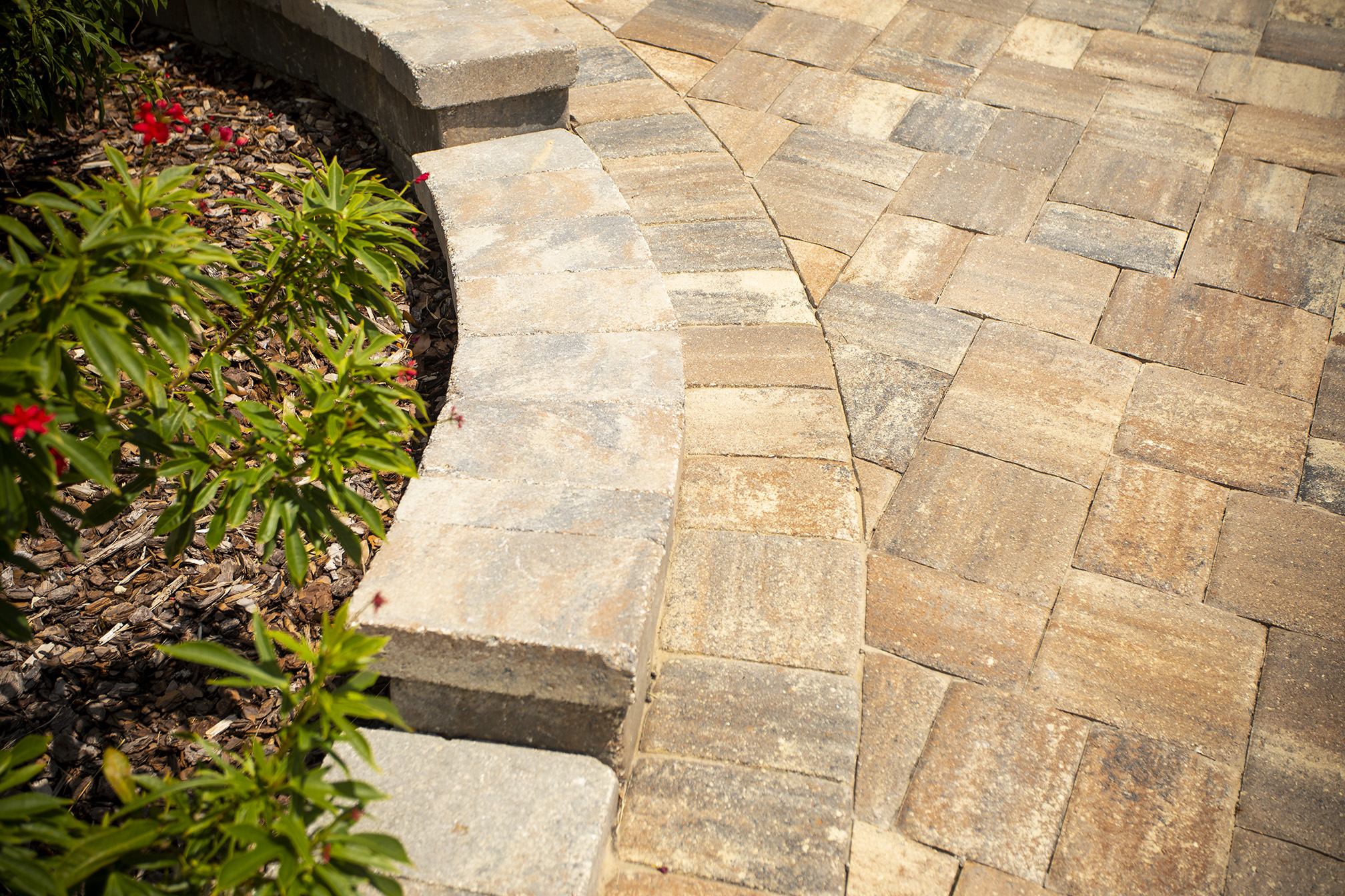 paver patterns borders how to create