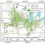Corn Yield Forecast Center Model Map-t=1435183198000
