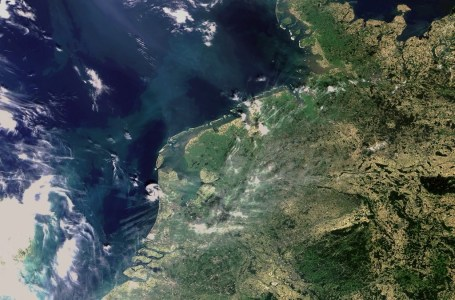 Netherlands from Space