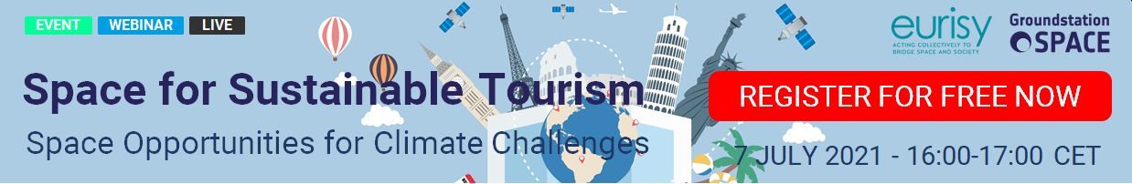 Space for Sustainable Tourism Webinar - Banner