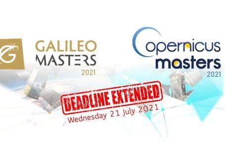 Copernicus and Galileo Masters 2021