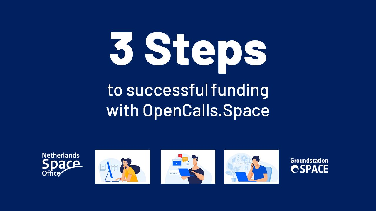 Three steps to successful funding with OpenCalls.Space