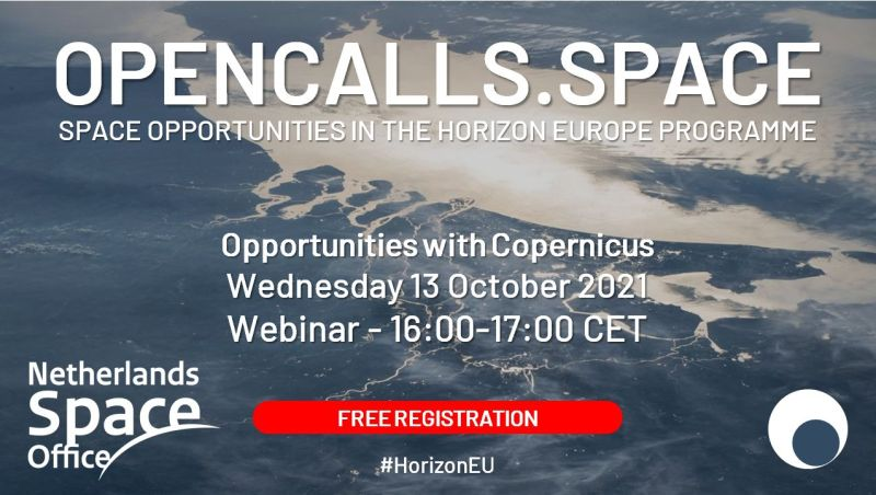 Open Calls Webinar with NSO 13 October 2021