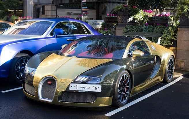 2017 Bugatti Veyron Gold