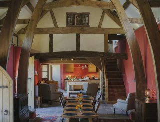 Large Farmhouse Group Accommodation On The Brecon Beacons