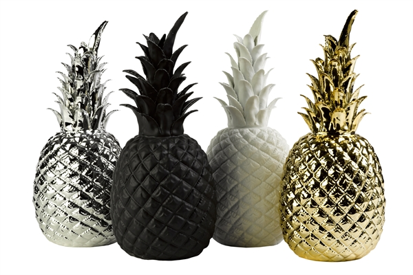 Ananas Cramique Blanc POLS POTTEN Wwwgroupdecofr