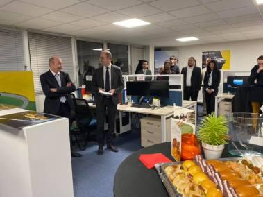 Inauguration du CRC - Actualité Groupe Faurie