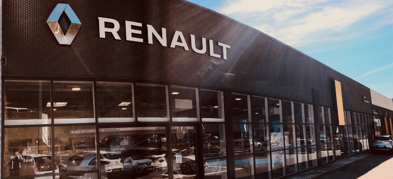 Renault-tulle