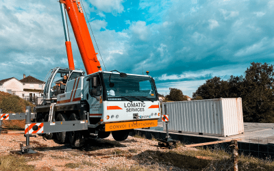 REPORTAGE LEVAGE CONTAINER – LOMATIC SERVICES