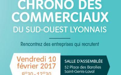 Information sur le Chrono des commerciaux le 10 février 2017