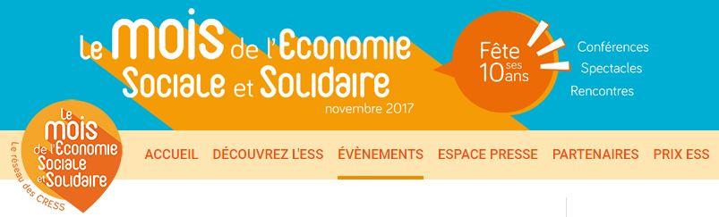 Le Mois de l'Economie Sociale et Solidaire dans le RHONE
