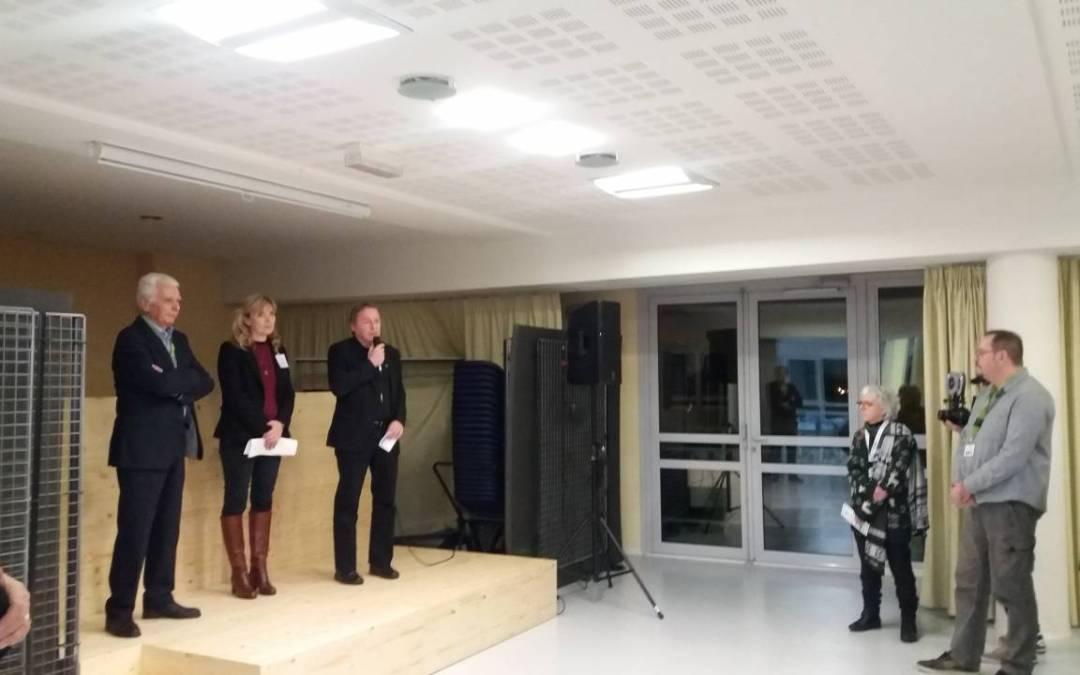 Atelier du 6 février a eu lieu chez un nouveau membre : Hôpital de L'ARBRESLE