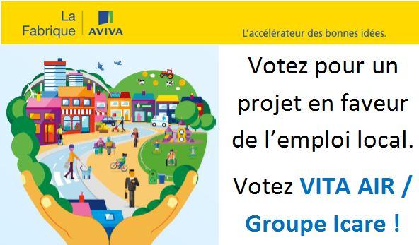 Soutenez notre projet dès le 6 mars au concours La Fabrique Aviva ….On compte sur vous!
