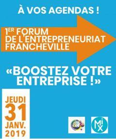 Save the date : 31 janvier 1er Forum de l'entrepreneuriat à Francheville