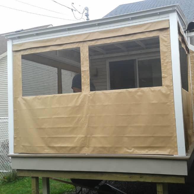 auvent de balcon un toit sur mesure