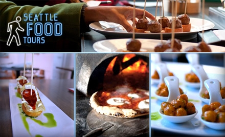 $32 for One Ticket to the Belltown Restaurant Tour Through Seattle Food Tours ($54 Value)