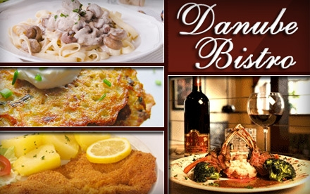 $20 for $50 Worth of European Comfort Cuisine and Drinks at Danube Bistro