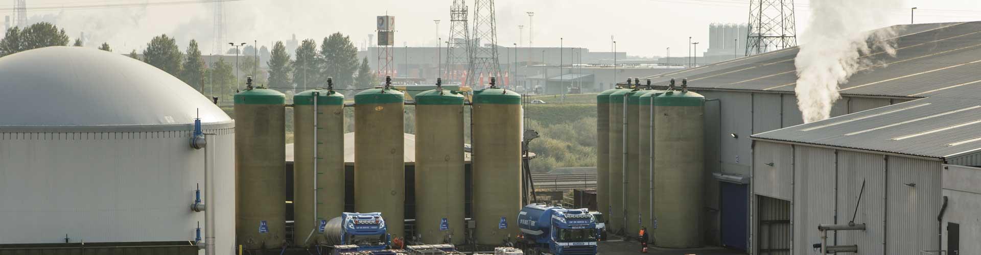 Group Op de Beeck - Kallo - Biogasinstallatie