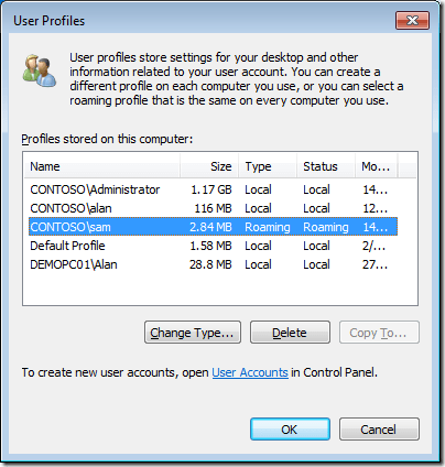 Temporary or Roaming Profile Issues with Windows XP or