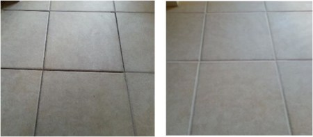 The Grout Doctor     Grout Repair Before