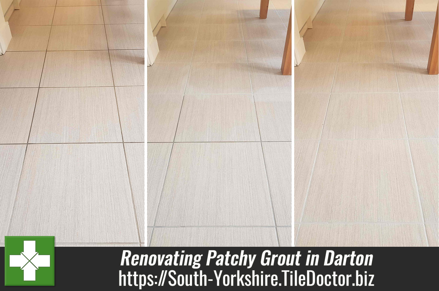 resolving patchy grout issues in