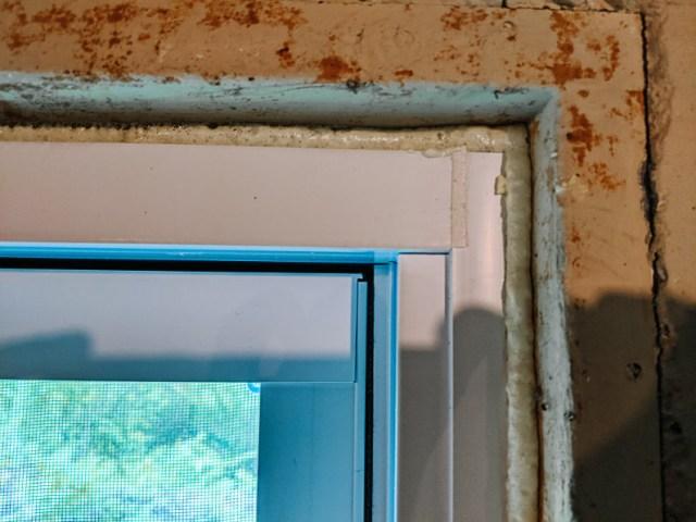 Great Stuff expanding door and window foam insulation