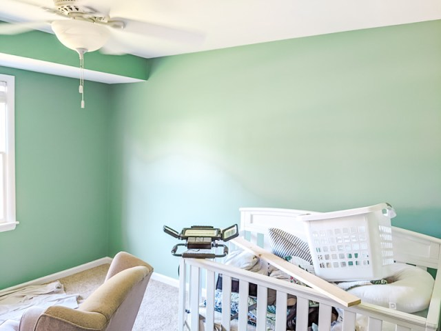 Copper Patina Behr Paint on wall