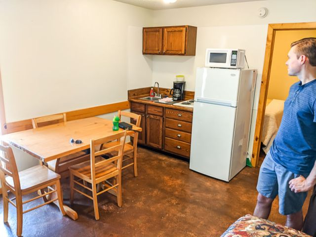 Kitchenette rental on vacation